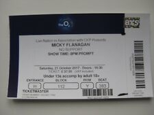 MICKY FLANAGAN  O2 LONDON  21/10/2017 OLD TICKET