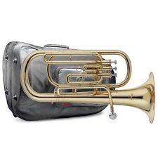 Instruments à vent de la famille des cuivres etui