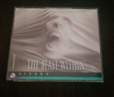 Gabriel Knight THE BEAST WITHIN SIERRA PC Game Adventure CD-ROM 6 DISC Vintage