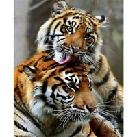 5D Tiger Animals Diamond Painting Kits Full Drill Art Embroidery Decors DIY Gift