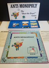 Vintage 1973 ANTI-MONOPOLY The Bust-The-Trust Board Game #3300 by Ralph Anspach