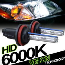 6000K Hid Xenon H11 Driving Bumper Fog Lights Lamp Bulbs Conversion Kit New Vd4