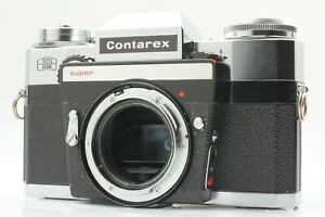 RARE [READ EXC+3] Zeiss Ikon Contarex Super 35mm SLR Film Camera Body from JAPAN
