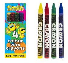 6 pacchetti di cera pastelli-Smile Design-Toy Loot/Party Borsa Filler