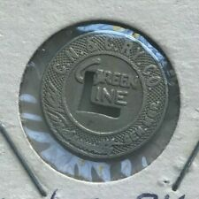 Covington Kentucky KY CN & C Ry Co Green Line Transportation Token