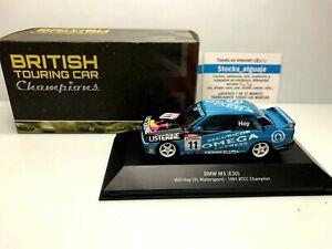 BRITISH TOURING CAR 1/43 BMW M3 E30 WILL HOY VL MOTORSPORT 1991 BTCC CHAMPION