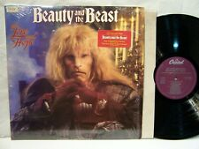Beauty and the Beast  LEE HOLDRIDGE  RON PERLMAN 1989 Capitol In Shrink  NM!