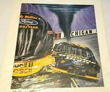 """""""Awesome When Opened Up!"""" Original  Sam Bass signed by Rusty Wallace 26"""" x 23"""""""