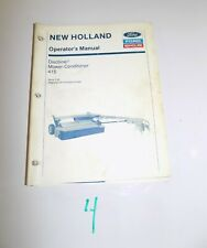 Ford New Holland 415 Discbine Operator's Manual 42041511  2-93