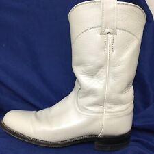 Cream Colored Justin Boots