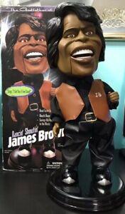 "2001 Dancin Shoutin James Brown Electronic Animated Collectible Figure 18"" w/Box"