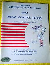 Everything You Should Know About RADIO CONTROL FLYING Harold Cunningham 1974