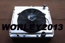 Aluminum radiator & shroud & fan for Ford Fairlane Mercury Cougar Falcon Galaxie