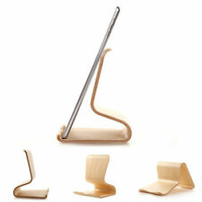 Tablet&handy Stand: Mount Station Wooden Stand Samsung Apple Lenovo Huawei