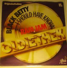 "7"" Vinyl Oldiethek, Black Betty ""Ram Jam, I Should have known"""