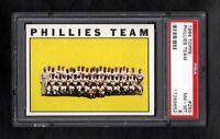 1964 TOPPS #293 PHILLIES TEAM PSA 8 NM/MT++SHARP CARD!