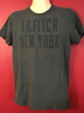 ABERCROMBIE & FITCH Men's Teal Green Muscle T-shirt - Size Small - NWT
