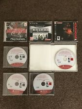 Metal Gear Solid Muy Raro Promo Collection PS1 PS3 PS4 Sony PlayStation 1 2 3