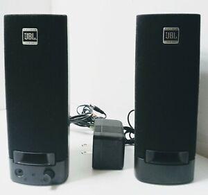JBL Platinum Series Wired Computer Speakers 259139-001Tested Works