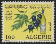 ALGERIE N°517** Année oléicole (huile olive) 1970, ALGERIA olive oil MNH