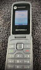 Motorola WX345 GSM 2MP Flip Cell Phone (Consumer Cellular)