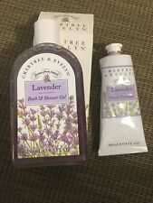 Crabtree & Evelyn Lavender Body Lotion Shower Gel & Hand Therapy New