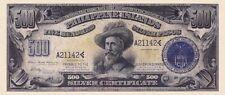 Philippines, 2 & 500 Pesos Silver Certificate, 1906, P.32 & P.33, REPRODUCTION