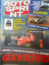 Autosprint 47 1986 Storia di 14 anni Rally da Stratos