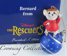 Grolier Bernard The Rescuers Disney President's Edition Ornament Mice Scholastic