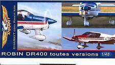 Sharkit Models 1/48 ROBIN DR 400 DAUPHINE Private Plane