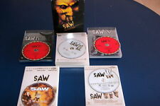 COFFRET DVD SAW TRILOGIE + SAW IV + SAW V LIONSGATE OCCASION