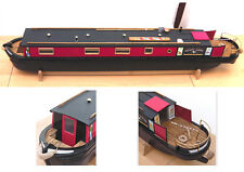 Plans for making a Miniature model Canal Boat / Narrowboat