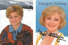 2 Autographs Maria (deceased) Margot Hellwig Folk Music Cow Barn Riding in the callout