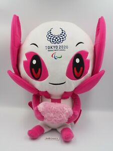 """Tokyo Japan MB2603 Olympic 2020 Someity Mascot  Large Plush 15"""" Toy Doll Japan"""