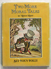 Two More Moral Tales Mercer Mayer 2nd Imp HCDJ 1975 Wordless Picture Book Scarce