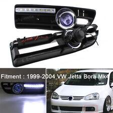 LED Grille Grill DRL Daytime Running Fog Light For VW Jetta Bora Mk4 1999-2004
