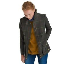 Joules Country Tweed Fieldcoat Heather Check UK 10