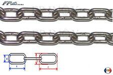 Chaine inox A4 Diamètre 7mm inox 316 - A4 VENDU AU METRE