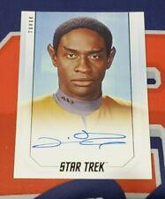 2019 Star Trek Inflexions Bridge Crew Tim Russ Autograph