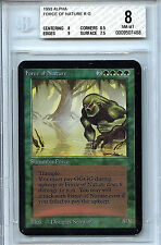 MTG Alpha Force of Nature BGS 8.0 (8) NM-MT Card Magic the Gathering WOTC 7488