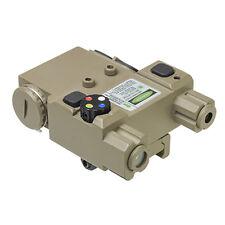 NcStar Vism Green Laser & 4 Color NAV LED PEQ Box - TAN - New - VLG4NVQRT