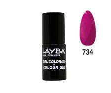 Layla Layba Smalto Semipermanente Gel Polish N 734 Nailporn 5 ml