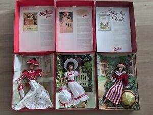 3 Barbie Coca Cola Collection dolls Coca Cola Fashion Classic Series vintage '96
