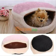 Warm Soft Cat Dog Kitten Cave Pet Bed House Puppy Sleeping Mat Igloo Nest Kennel