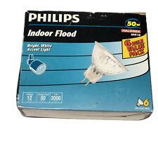 PHILIPS Indoor Flood & Landscape / 50w / Halogen MR16 / 6 Bulb Value Pack