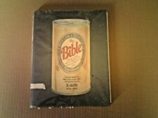 Old Book Beer Can Collector's Bible