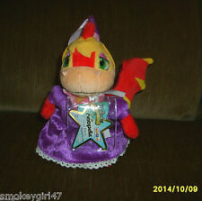 Neopets Limited Edition Royal Girl Scorchio Plush w/Unused Keyquest Code New