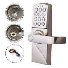 New Digital Electronic/Code Keyless Keypad Door Entry Lock Kit Home Safety Right
