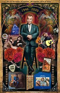"""John Prine tribute poster - 11x17"""" -- Vivid Colors!"""