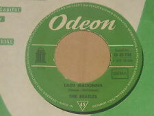 """The BEATLES-LADY MADONNA - 7"""" 45"""